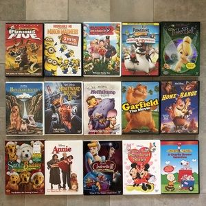 15 Kids DVD's for Stay-at-Home Entertainment!!!
